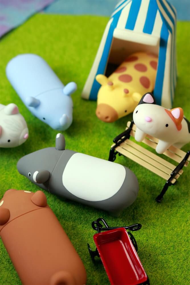 動物ハンコ収納ケース・パペッタの製品イメージ