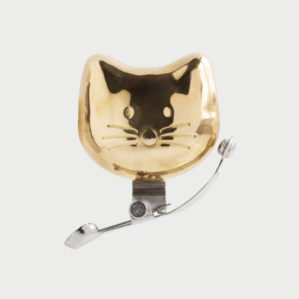 猫の形をした自転車用のベル「CAT BIKE BELL(キャットバイクベル)」の製品イメージ