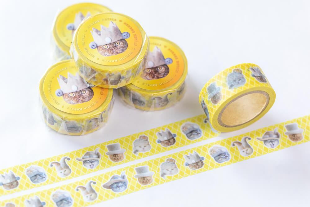 抜け毛ロイヤルズマスキングテープ 650円 by rojiman