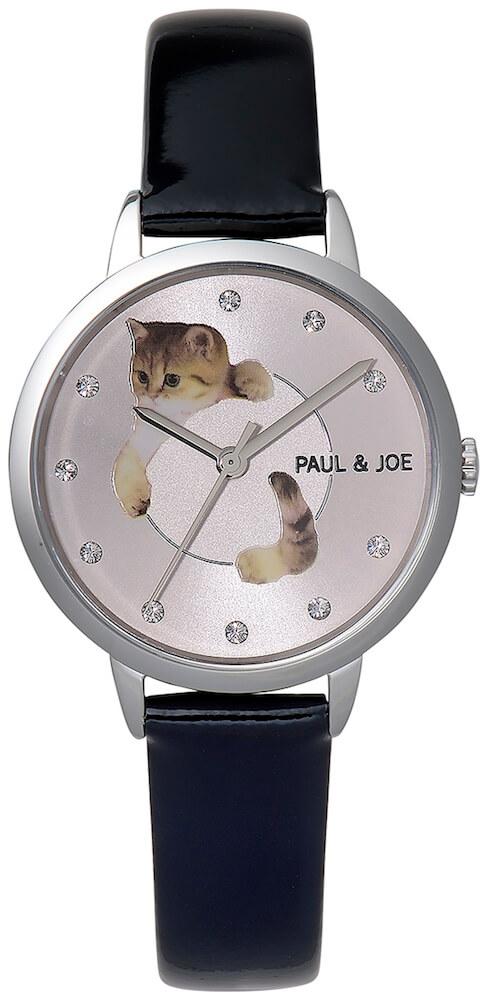 PAUL & JOE(ポールアンドジョー)のクリスマス限定ウォッチ「ブラック」カラー