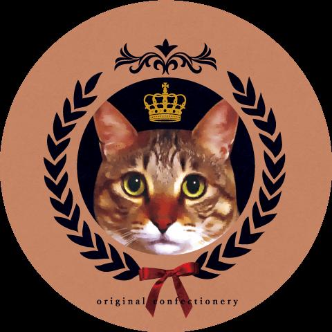 猫をモチーフにした東京土産「TOKYO CROWN CAT」のロゴ