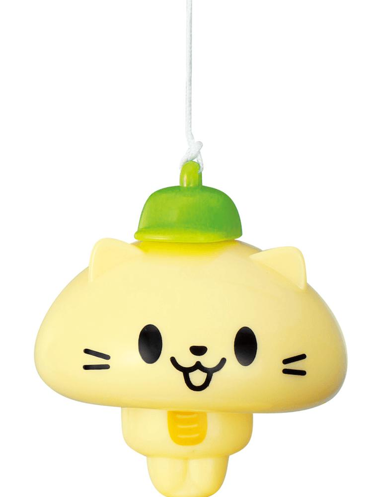 釣り上げると体が現れる猫の人形(体にゃんこ) by 玩具「ねこ釣りゲーム そろえて!にゃんこ!」
