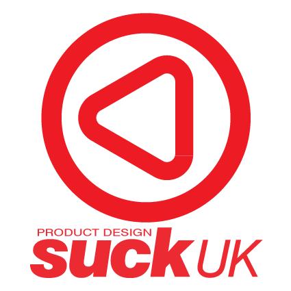 イギリス・ロンドンの雑貨ブランド「SUCK UK(サックユーケー)」のロゴ
