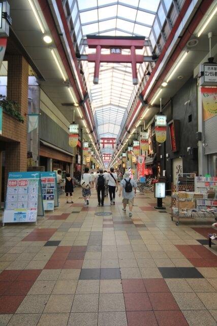 大阪市北区の天神橋筋商店街イメージ写真