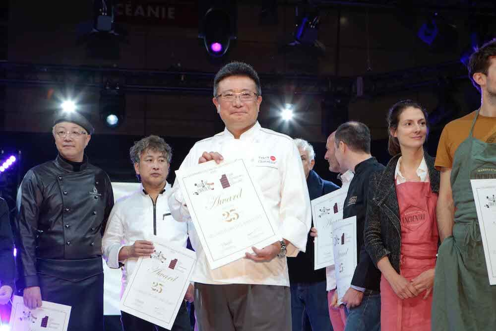 世界最大級のチョコレート展「サロン・デュ・ショコラ パリ2019」で最高のショコラティエに贈られる「レ メイヤー デ メイヤー」を受賞した大石茂之さん