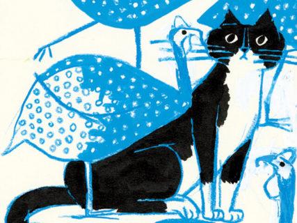 毎日新しい猫と動物に出合える!日めくり絵本「トラネコボンボンの365日」第3弾が登場