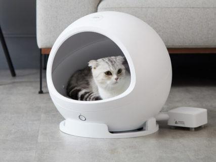 ネコの家も冷暖房完備の時代!アプリで温度調整できるスマート猫ハウス、最新モデルが登場