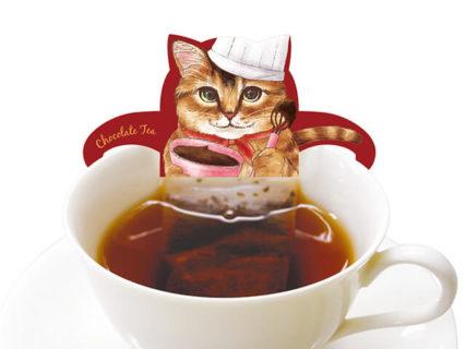 紅茶風呂に浸かった猫が可愛すぎる♪ 人気のティーバッグ「キャットカフェ」シリーズから新作が登場
