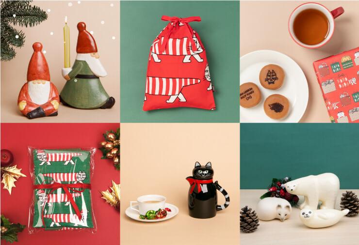 リサ・ラーソンのクリスマス限定ショップの販売商品イメージ