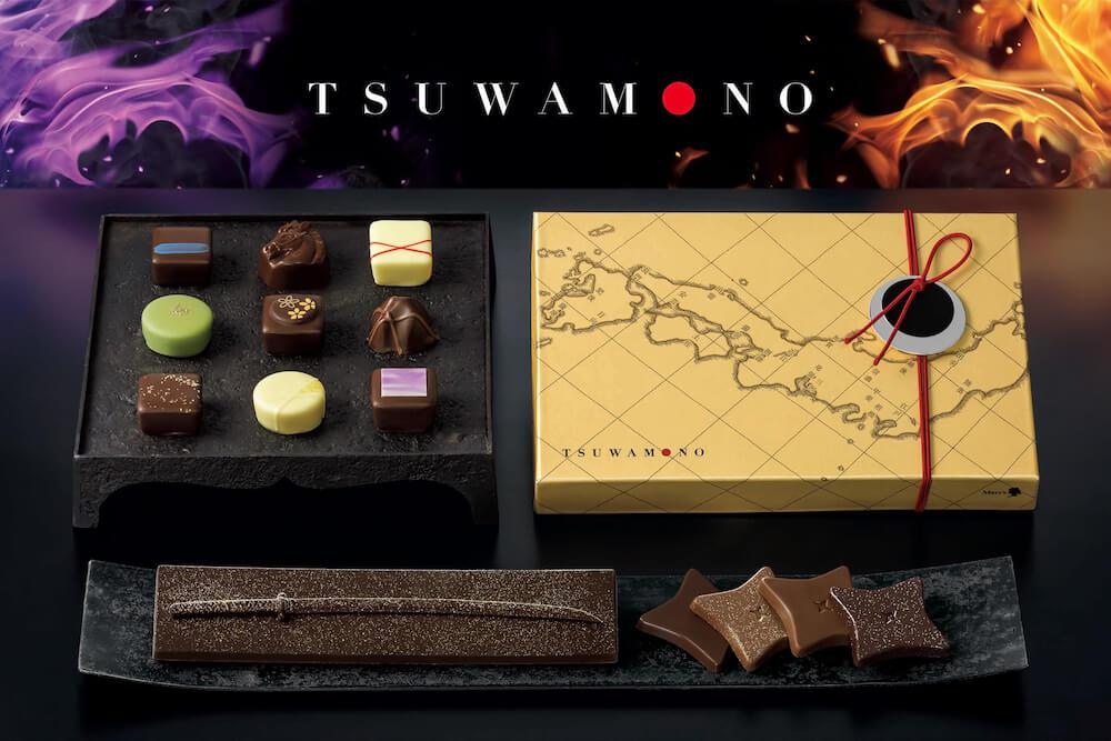 戦国時代に活躍した武将たちをテーマにしたチョコレートブランド「TSUWAMONO( つわもの)」