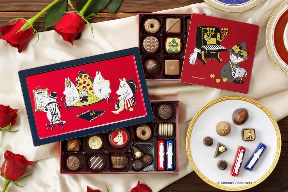 ムーミンとメリーチョコレートのコラボチョコレート