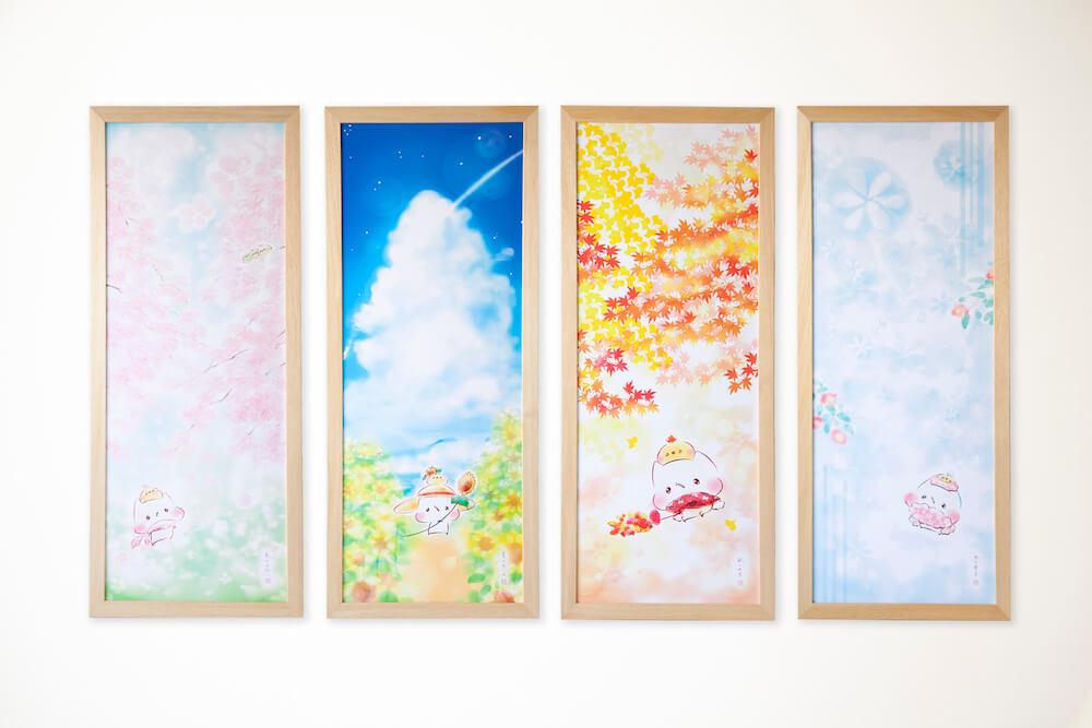 灯さかすのイラスト作品「春夏秋冬」