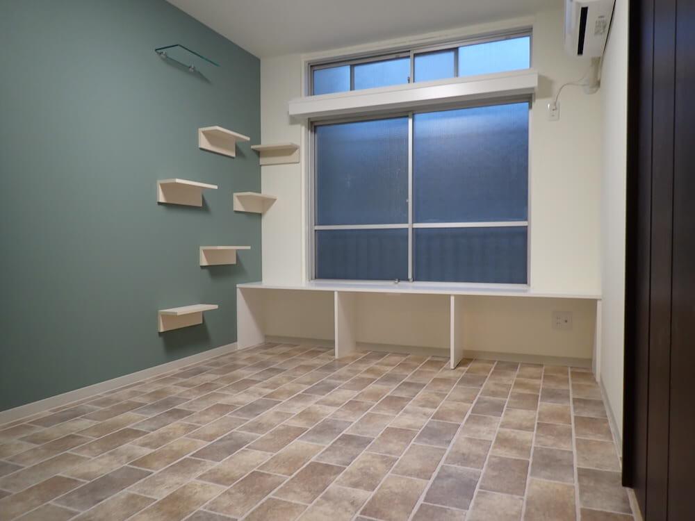 目黒の猫共生住宅 八木ビル202号室の室内イメージ by ねことすまふ
