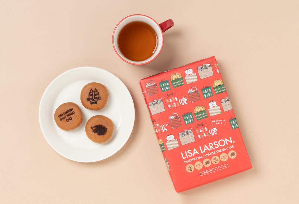 リサ・ラーソンと常盤堂がコラボした人形焼の製品イメージ&パッケージ