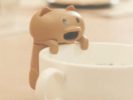 食卓が楽しくなりそうニャ!熱々の食事を冷ましてくれる猫型ロボット「猫舌フーフー」