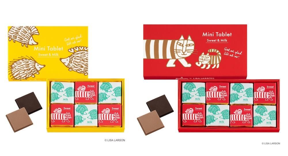 ミニタブレットチョコレート by ユーハイム×リサ・ラーソン