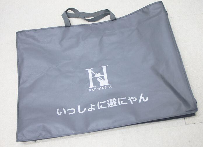 猫と同行避難するための避難用ケージ 「いっしょに避にゃん」を持ち運ぶ専用トートバッグ
