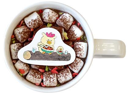 ほっとするマシュマロクリームココア by ノラネコぐんだんコラボカフェ