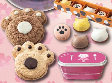 今回はお弁当箱もついてくる!猫型のパン&スイーツを詰め合わせた人気セット、春の新商品が発売