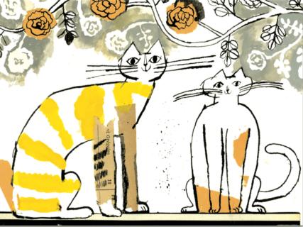 独特な猫ワールドでファンを魅了する♪ トラネコボンボンの文具セットが発売&原画展も開催中