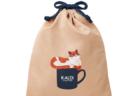 今年はかわいい巾着袋に入って1,120円!カルディから毎年恒例の「猫の日セット」が登場