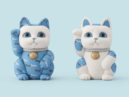 伝統的工芸品の「招き猫」もいるにゃ〜羽田空港の江戸小路に東京おみやげ専門店がオープン