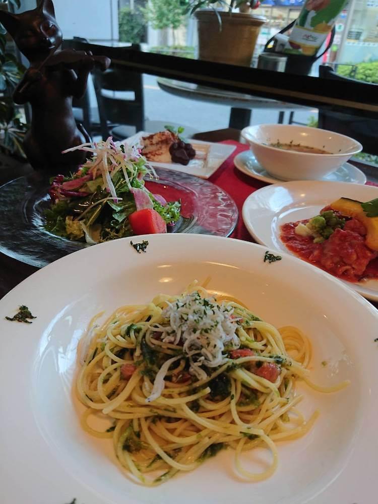 UN GATTO(イタリアンレストラン)のパスタ