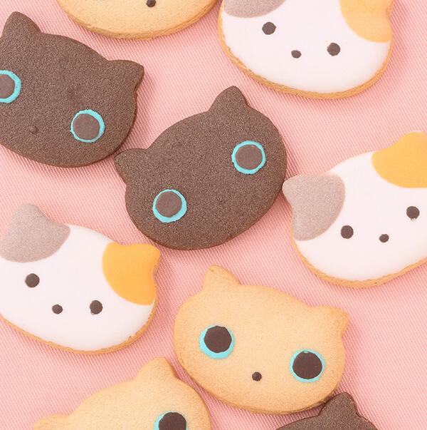 猫型クッキー「ねこコレクション」OSAKA愛シング