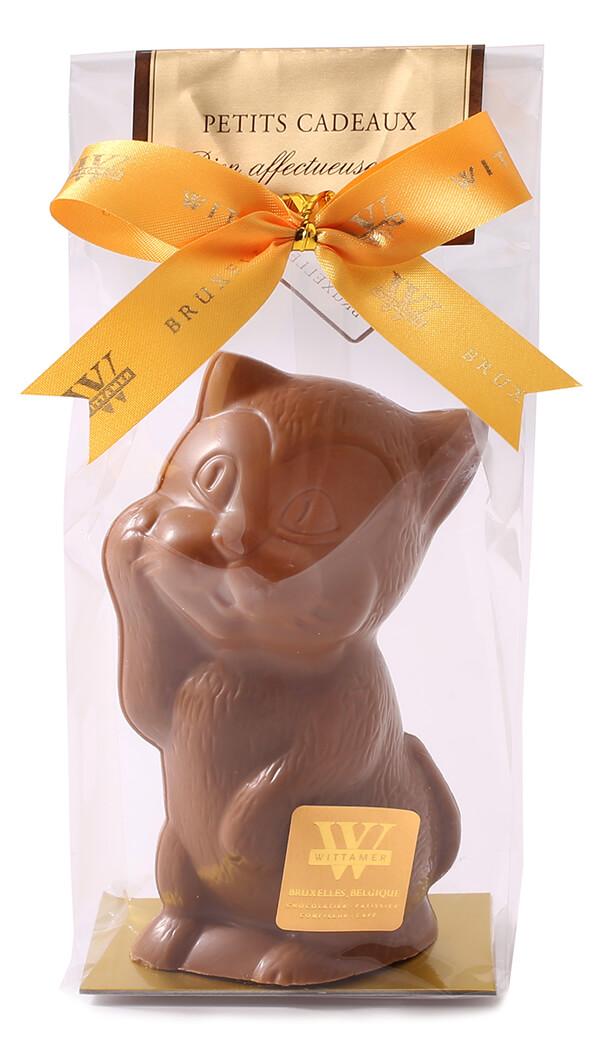 ネコ型のチョコレート「ネコ(スイート/ミルク)」ヴィタメール
