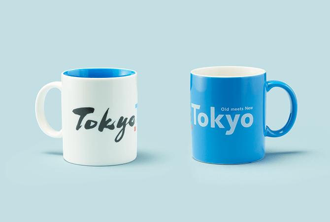 羽田空港の東京おみやげ専門店で販売されている「マグカップ」