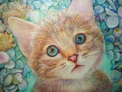 世界最古の絵画技法、フレスコ画で描いたネコが美しい…人気作家の作品を集めた「猫の絵画展」