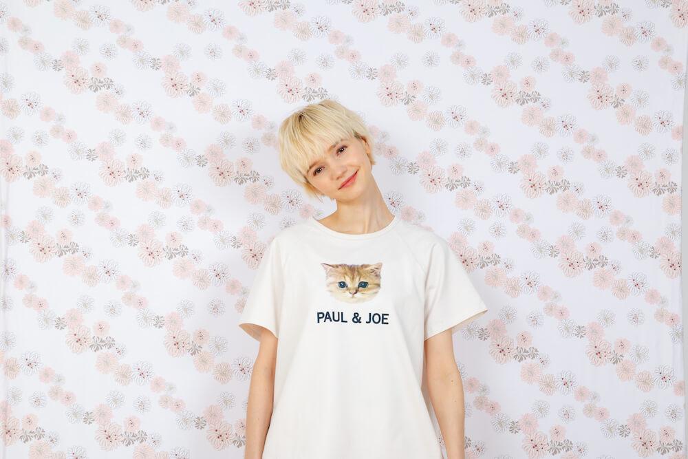 ヌネット&ロゴ Tシャツ by PAUL & JOE(ポールアンドジョー)