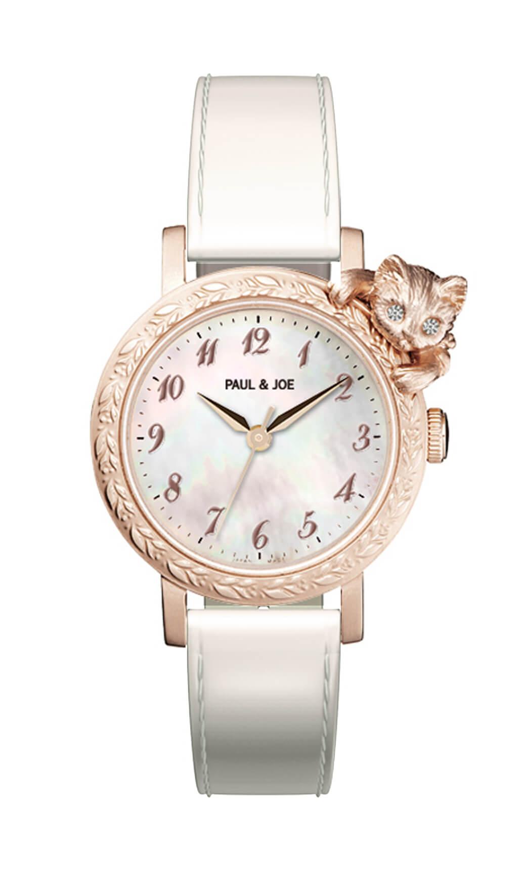 Timeless Cat (タイムレスキャット)の新作腕時計ピンクゴールド by PAUL & JOE(ポールアンドジョー)
