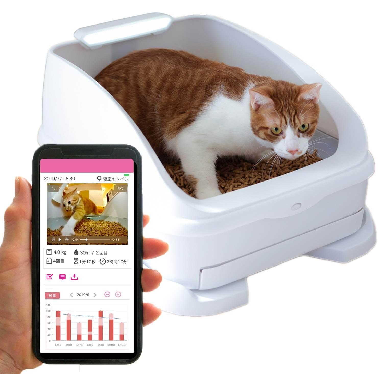 次世代スマート猫トイレ「toletta(トレッタ)」の製品イメージ