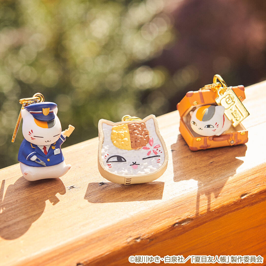 H賞:フィギュアチャーム(3種) by 一番くじ 夏目友人帳 ~ニャンコ先生と春の旅~