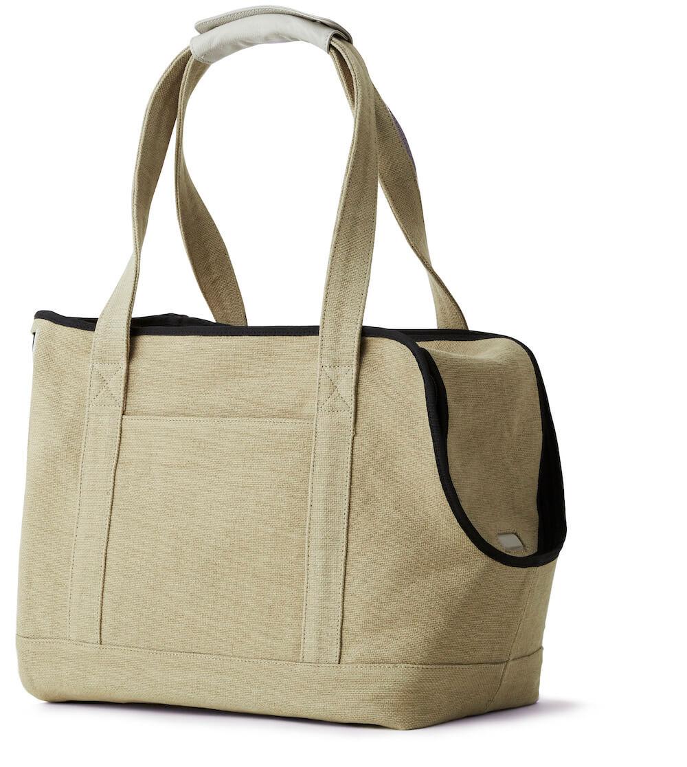 Neko Carry Bag(ネコキャリーバッグ)の製品イメージ、ライトグレーカラー