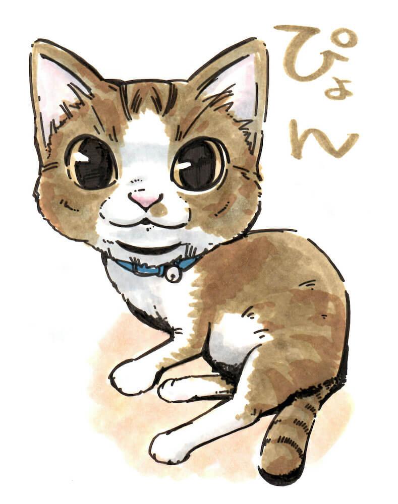猫の似顔絵サービスのイメージ by せいせき ねこフェス