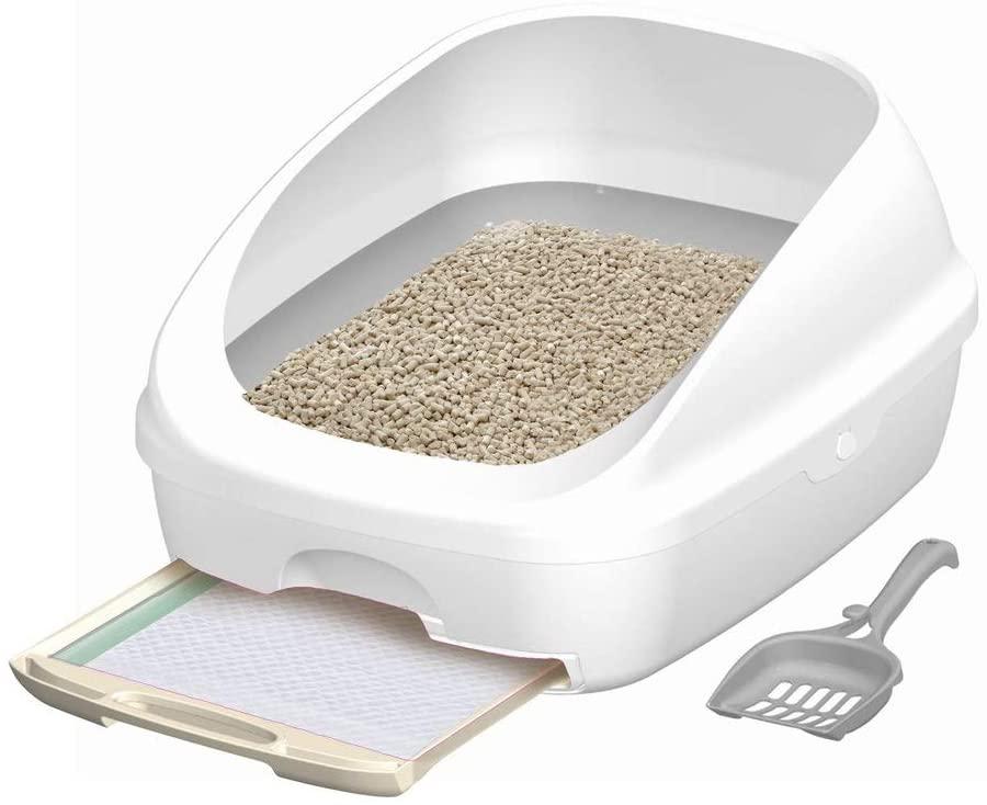 ユニ・チャームの猫用システムトイレ「デオトイレ本体イメージ」