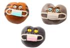 猫がマスクをした和菓子…!?創業120年の老舗店から見た目も名前もユニークなまんじゅうが登場