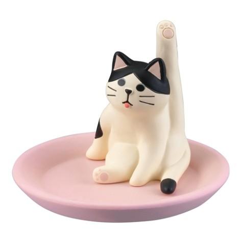 グルーミングアクセサリートレイ ハチワレ猫