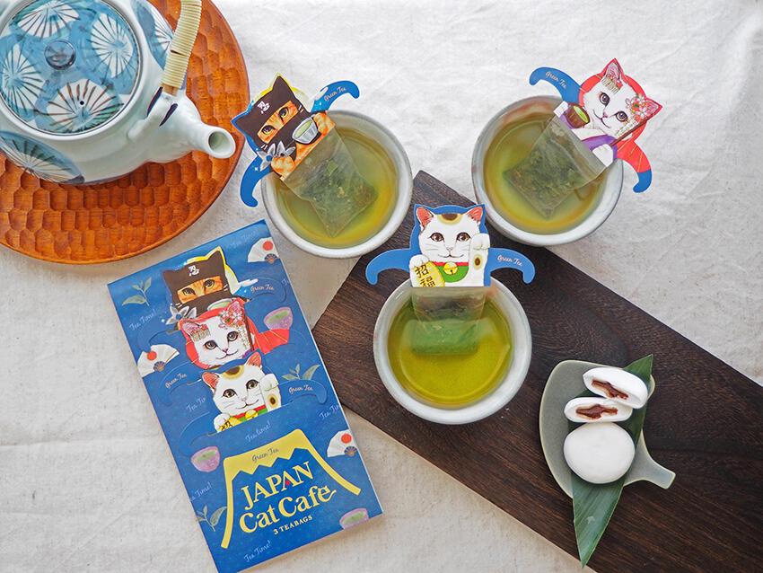 ジャパンキャットカフェ(JAPAN Cat Cafe)の全3種類の使用イメージ