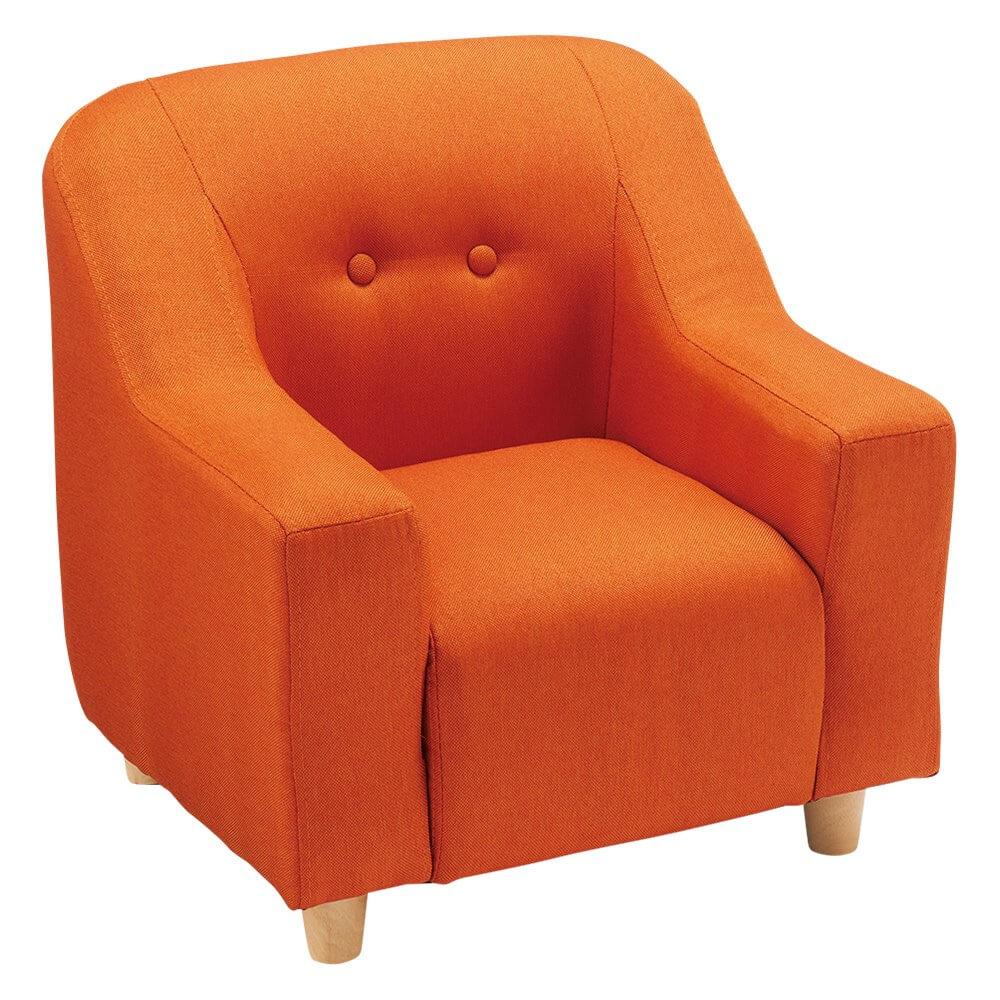 ディノスのペット用ソファ(小サイズ) オレンジカラー