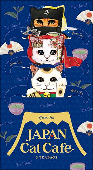 ジャパンキャットカフェ(JAPAN Cat Cafe)の製品パッケージ