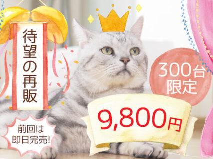 話題のスマート猫トイレ「トレッタ」が9,800円で発売!4/10(金)の20時から300台限定ニャ