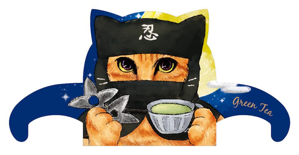 ジャパンキャットカフェ(JAPAN Cat Cafe)の忍者バージョン「猫の名前は勝」