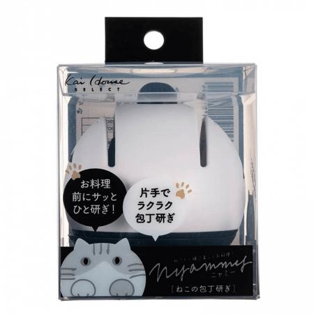 ねこの包丁研ぎ by 貝印のNyammy(ニャミー)製品パッケージ