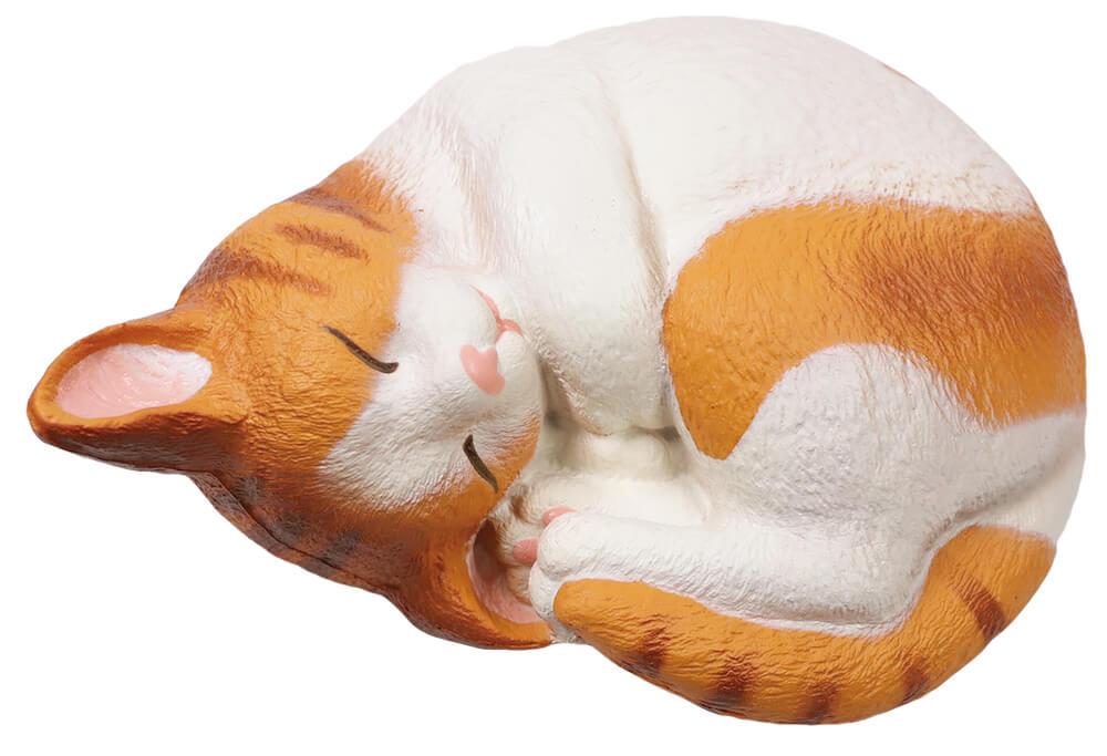 猫のスクイーズ「ウィーアーザキャット(まるネコ)ムギ」 by BLOOM