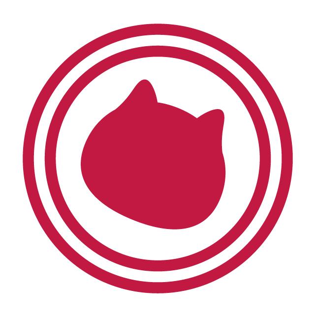 ネコ型スイーツ&ベーカリー「京都ねこねこ」のロゴ