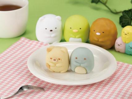 すみっコぐらしの「ねこ」キャラクターが和菓子になって登場!全国のファミマで5/26より発売