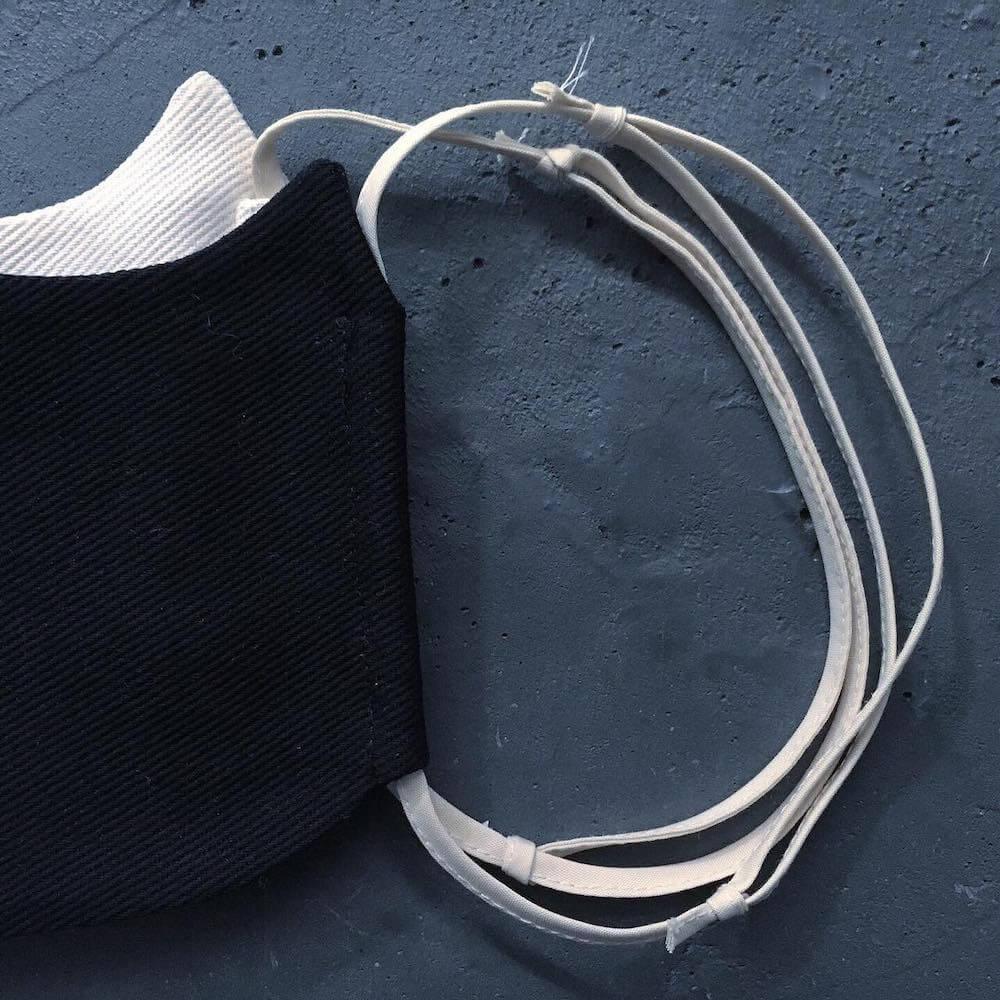 紐でサイズ調整できる猫型マスク「SAVE THE CAT MASK」